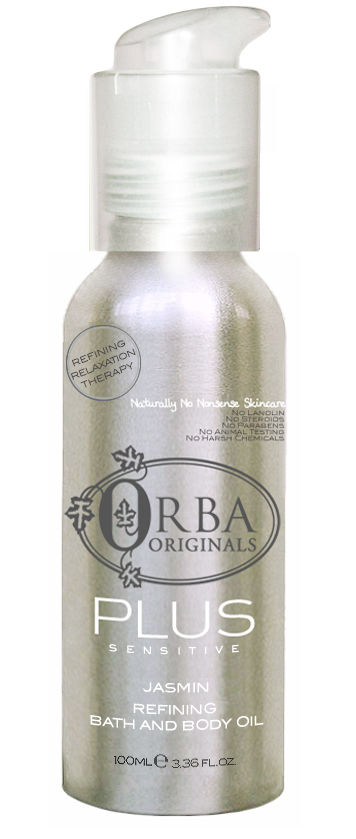 Orba Plus Sensitive Jasmin Bath and Body Oil