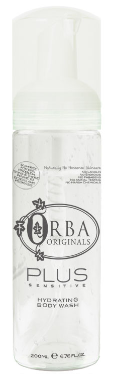 Orba Plus Sensitive Hydrating Body Wash - 200ml