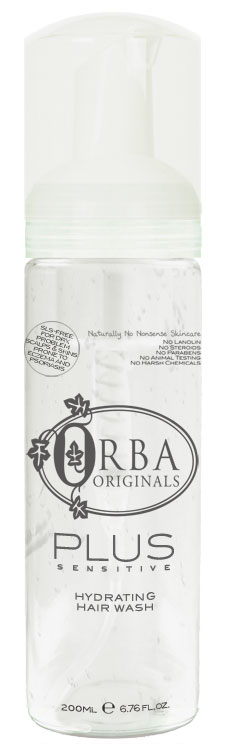 Orba Plus Sensitive Hydrating Hair Wash - 200ml