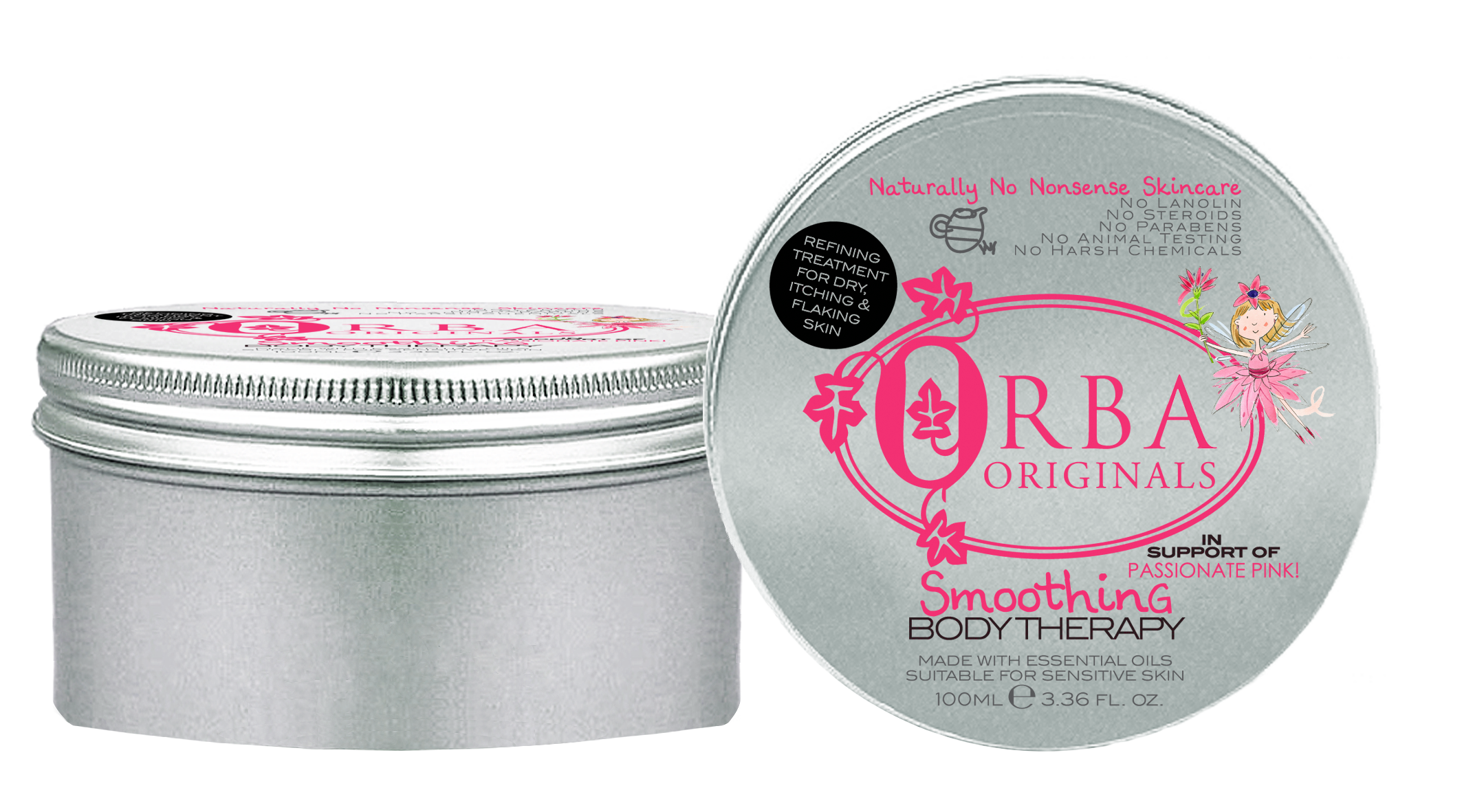 Passionate Pink Smoothing Body Therapy